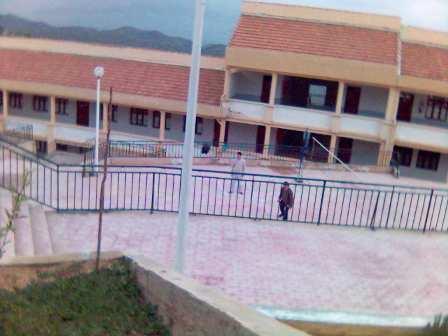 Cour & salles de classes
